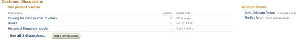 Amazon   John Grisham Product Page  Products Forum resized 600
