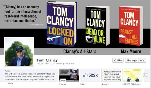 Tom Clancy Fan Page resized 600